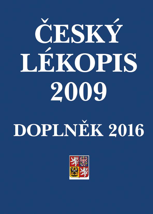 Český lékopis 2009 - Doplněk 2016, Tištěná verze