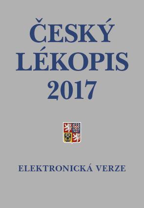 Český lékopis 2017